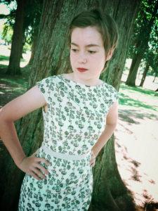 draped sheath dress (+ vlog)