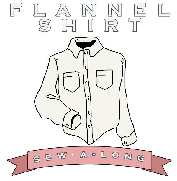 flannel shirt sew-along