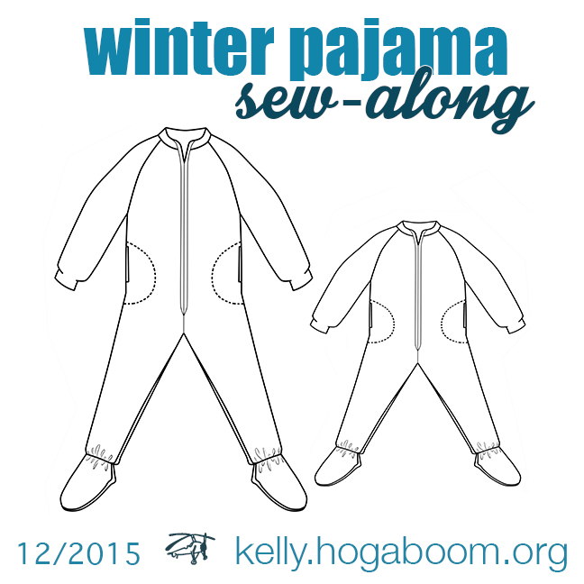 winter pajama sew-along