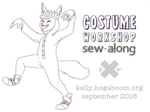 Costume Workshop Sew-Along
