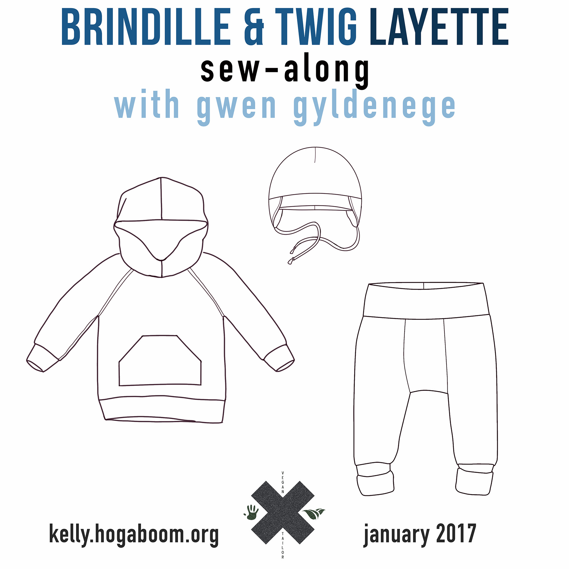 Brindle & Twig Layette Sew-Along