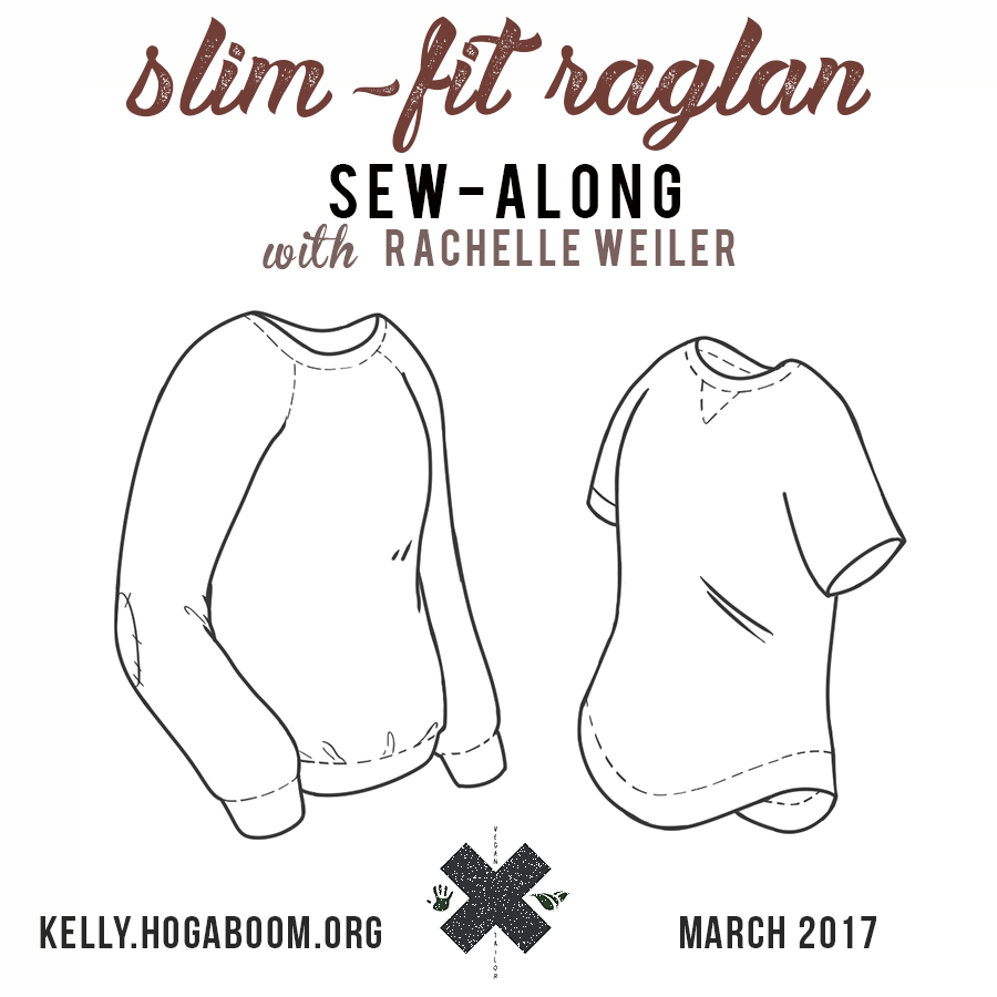 Slim-Fit Raglan Sew-along