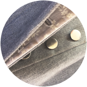 vegan tailor, button-fly tutorial