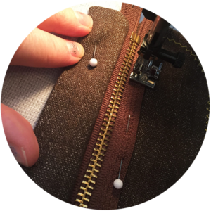 vegan tailor, zip-fly tutorial