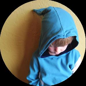 vegan tailor, imke hoodie